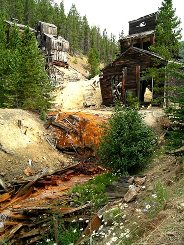 Barker Mining District, Galena Creek, Montana