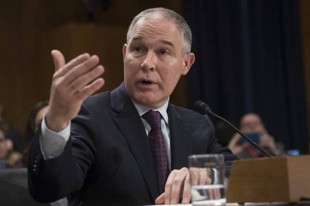 Scott Pruitt testifies at budget hearing