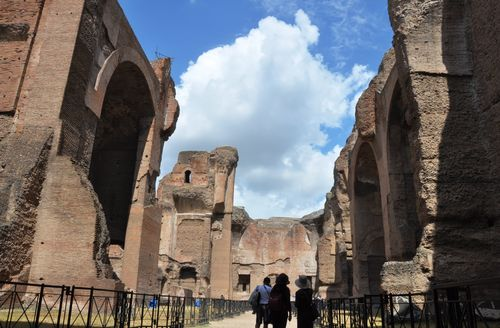 Frigidarium at the Terme di Caracalla