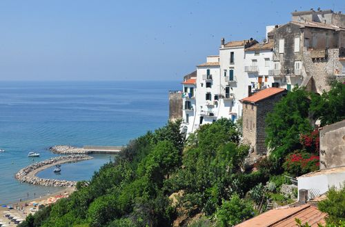 Sperlonga, town with a beach near Rome