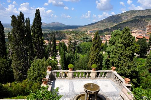 View from Villa d'Este, Tivoli, Italy