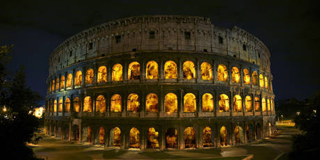 The Colosseum will be on fire for an art show this weekend, September 17 to 19.