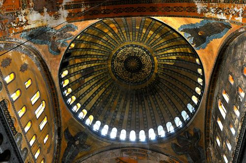 Dome of the Hagia Sofia, Istanbul