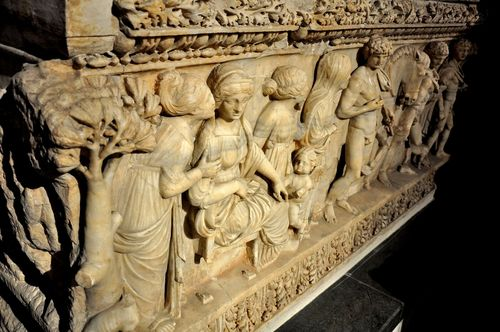 2nd-century AD Roman sarcophagus, Archaeological Museum, Istanbul