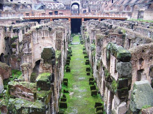 Hypogeum of the Colosseum, which will open to visitors in October