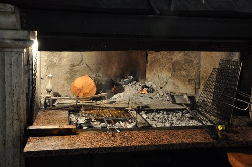 Il Pommidoro's wood oven