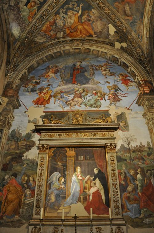 The Assumption, Filippino Lippi, Santa Maria Sopra Minerva