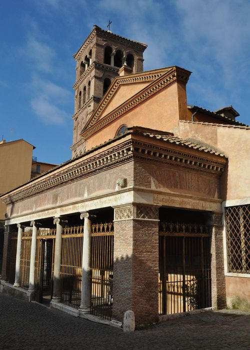 Church of St. George in Velabro, Forum Boarium, Rome