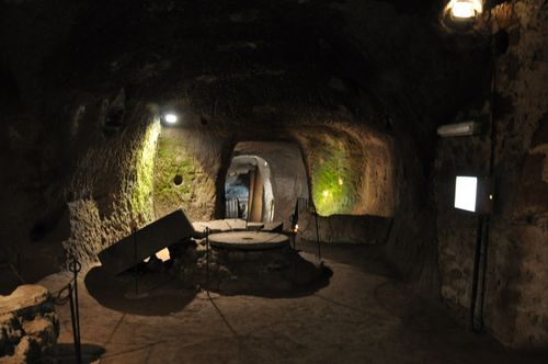 Underground caverns at Orvieto