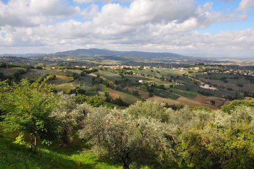 Umbrian countryside near Assisi