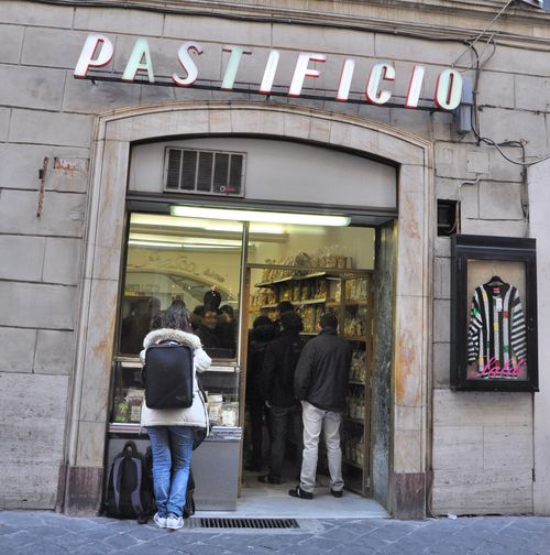 Pastificio on Via della Croce, Spanish Steps, Rome