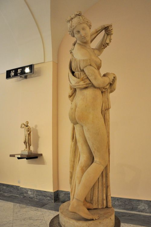 Venus Kallipygos in the Naples Archaeological Museum, currently at Palazzo Farnese, rome