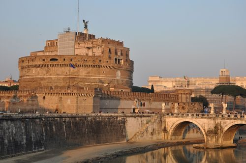 Castel Sant'Angelo, Rome - one museum open for Easter