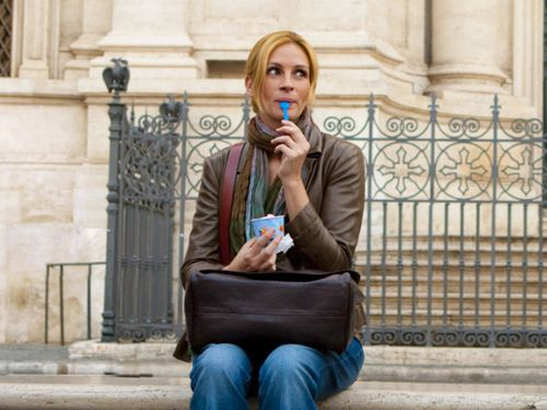 Eat Pray Love at Piazza Navona