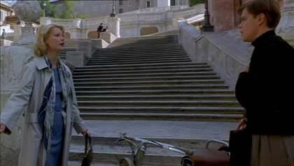 Talented Mr. Ripley at the Spanish Steps