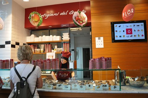 Flor, Rome's newest gelateria