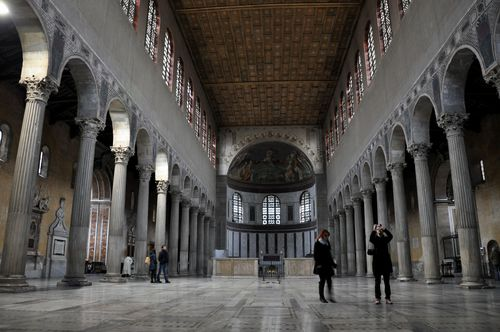 Ancient Basilica of Santa Sabina, Rome