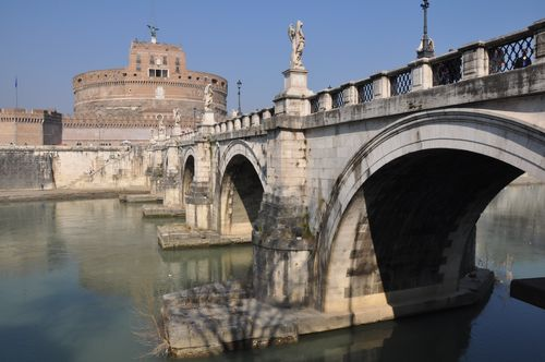 Castel Sant'Angelo and the Tiber, Rome