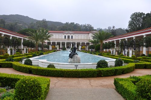 Getty Villa, a bit of Rome in Malibu, California