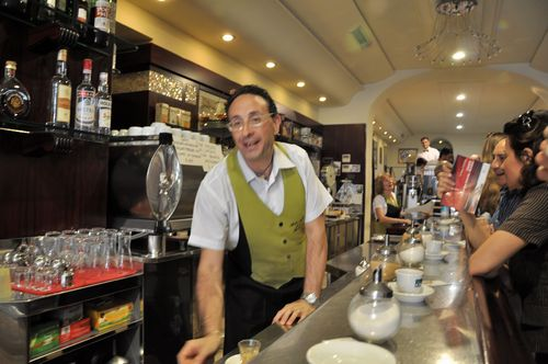Become a regular at your cafe in Rome and save money
