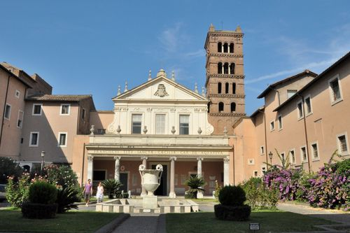 Church of Santa Cecilia in Trastevere in Rome