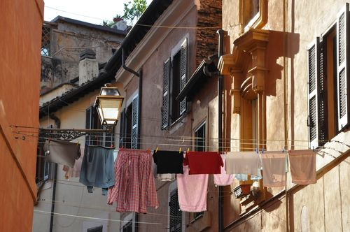Trastevere, easy from the number 3 bus in Rome