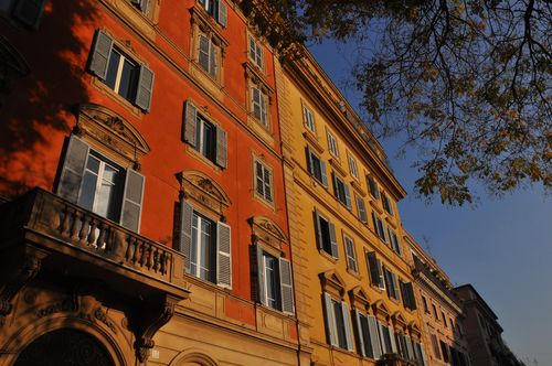 Typical apartments in Rome