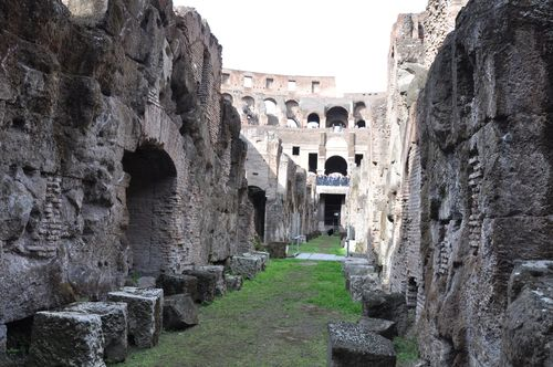 Colosseum underground, currently CLOSED
