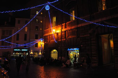 Lights for Christmas in Rome