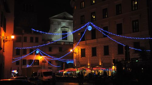 Church of Sant'Eustachio at Christmas