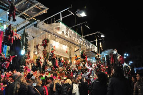 In Rome at Christmas, don't miss a Christmas market!