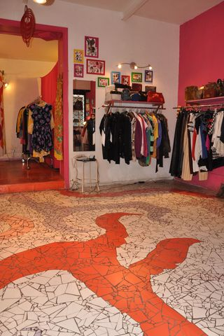 Pulp, a great clothing store in Rome