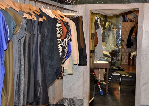 C.A.M., a clothing store and atelier on Via del boschetto Rome