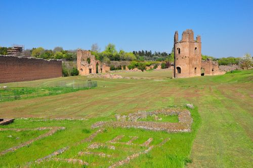 Circus of Maxentius along the Appian Way in Rome