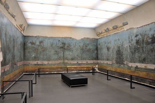 At the Palazzo Massimo during the Week of Culture