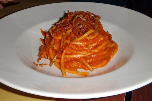 The best amatriciana in Rome