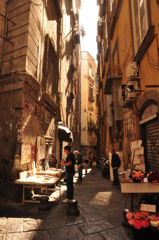 Naples Italy best explored on foot!