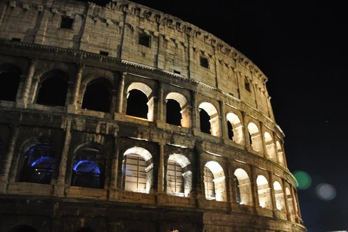 Colosseum now open at night