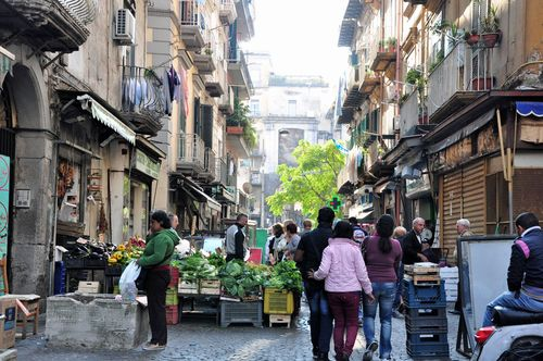 Naples, Italy, a day trip from Rome