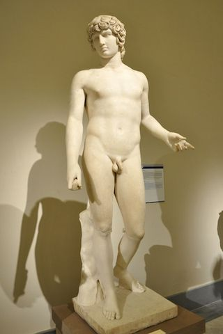 Antinous in the Naples archaeological museum