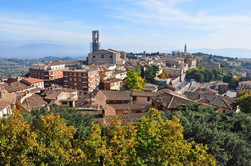 Perugia, a great day or weekend trip from Rome