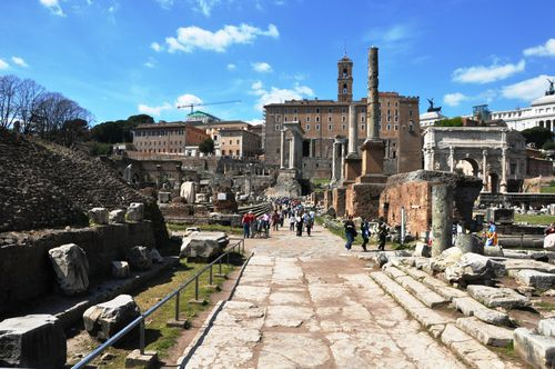 How to make the Roman forum child friendly