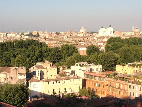 View from the Gianicolo in Rome