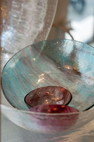 handmade glass in Monti