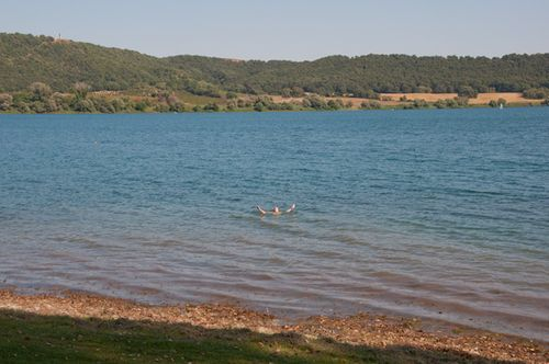 Lake Martignano, near Bracciano