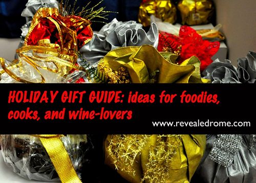 GIFT guide for foodies