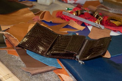 Leather gifts in Rome