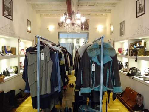 Blue Goose, a new vintage shop in Rome
