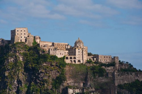 Aragonese Castle in Ischia
