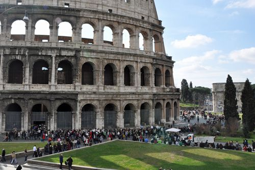 Skip the line at the Colosseum